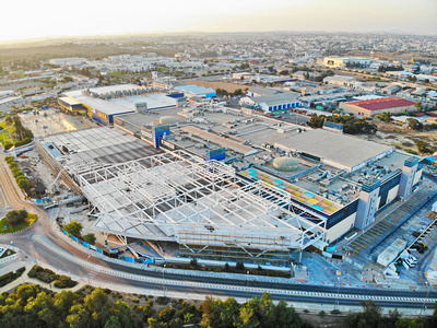 Τhe Mall of Cyprus: The progress of the expansion – The first photos